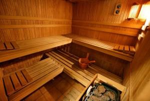 sauna w hotelu skalny szczyrk